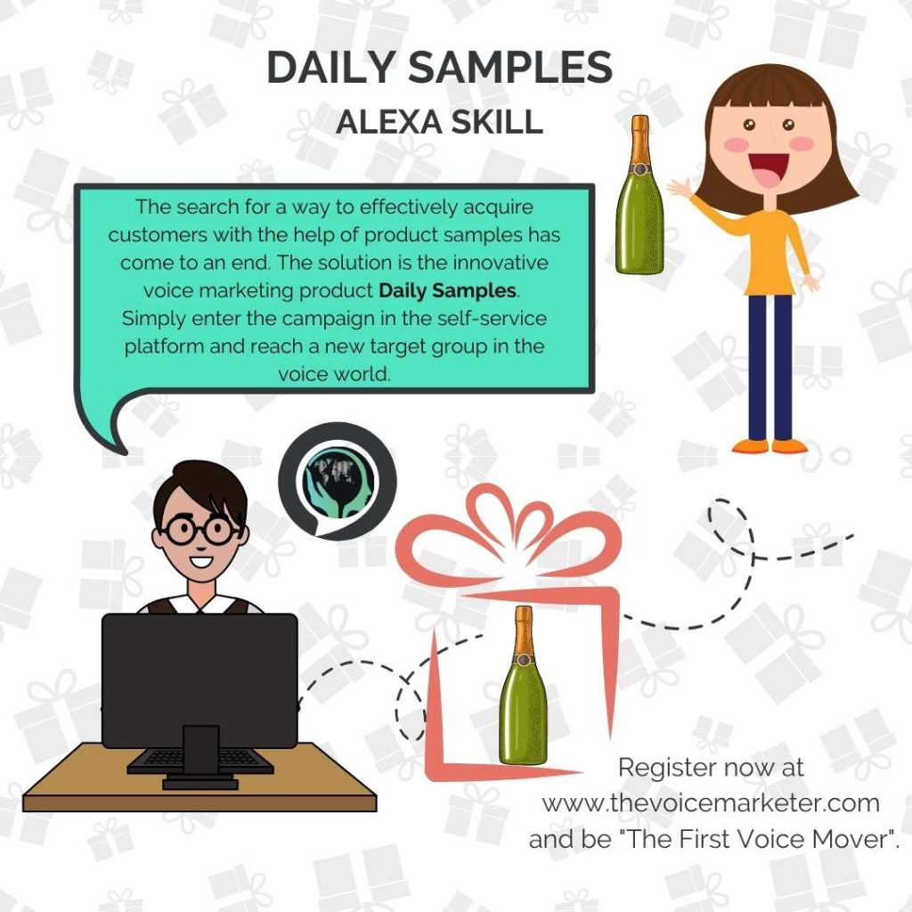 Daily Samples for product samples promotion